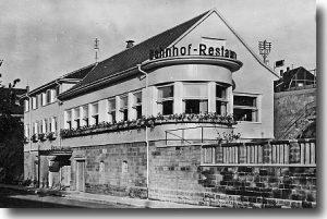 Bahnhof-Restaurant in Leonberg